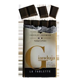 Tablette chocolat gianduja