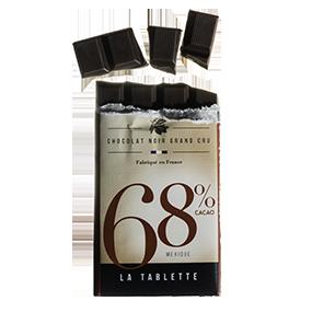 Tablette chocolat noir 68% mexique